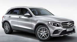 Mercedes GLC Class X253 Off-Roader with original Mercedes Wheels