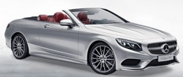 Mercedes S Class A217 Convertible with original Mercedes Wheels