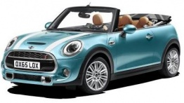 MINI F57 Convertible 2 door with original MINI Wheels