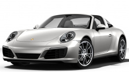 Porsche 911-991 Gen 2 Targa 4 with original Porsche Wheels