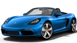 Porsche 718 Boxster S (982) with original Porsche Wheels