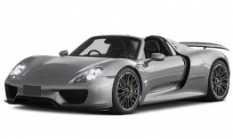 Porsche 918 Spyder with original Porsche Wheels