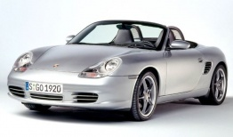Porsche Boxster 986 Spyder 550 with original Porsche Wheels