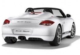 Porsche Boxster 987 Gen 2 Spyder with original Porsche Wheels