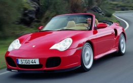 Porsche 911-996 Gen 2 Turbo Cabriolet with original Porsche Wheels