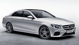 Mercedes E Class W213 Saloon with original Mercedes Wheels