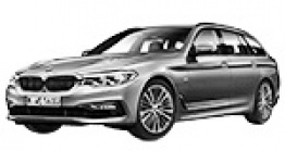 BMW 5 Series G31 Touring / Estate with original BMW Wheels