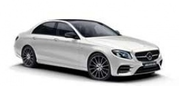 Mercedes E Class W213 E43 AMG 4Matic Saloon with original Mercedes Wheels