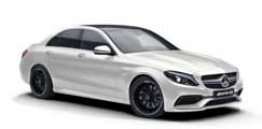 Mercedes C Class W205 C63 & C63S AMG Saloon with original Mercedes Wheels