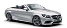 Mercedes C Class A205 C43 AMG 4Matic Convertible with original Mercedes Wheels