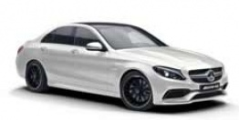 Mercedes C Class W205 C43 AMG & C450 AMG Sport 4Matic Saloon with original Mercedes Wheels