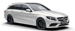 Mercedes C Class S205 C43 AMG & C450 AMG Sport 4Matic Estate with original Mercedes Wheels