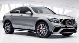 Mercedes GLC Class C253 GLC63 & GLC63S AMG Coupé with original Mercedes Wheels
