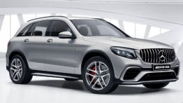 Mercedes GLC Class X253 GLC63 & GLC63S AMG Off-Roader with original Mercedes Wheels