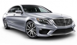 Mercedes S Class W222 S63 AMG Saloon with original Mercedes Wheels
