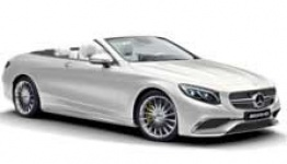 Mercedes S Class A217 S63 & S65 AMG Convertible with original Mercedes Wheels