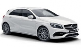 Mercedes A Class W176 A45 AMG Hatchback with original Mercedes Wheels