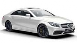 Mercedes CLS Class C218 CLS63 & CLS63S AMG Coupé with original Mercedes Wheels
