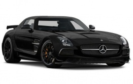Mercedes SLS AMG Black Series C197 Coupé with original Mercedes Wheels