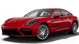 Porsche Panamera G2 971 Gen 1 Panamera Turbo with original Porsche Wheels