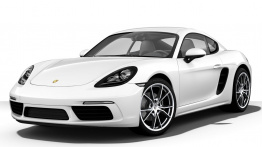 Porsche 718 Cayman (982C) with original Porsche Wheels