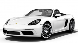 Porsche 718 Boxster (982) with original Porsche Wheels
