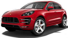 Porsche Macan Turbo 95B with original Porsche Wheels
