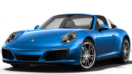 Porsche 911-991 Gen 2 Targa 4S with original Porsche Wheels