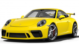Porsche 911-991 Gen 2 GT3 with original Porsche Wheels