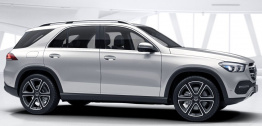 Mercedes GLE Class V167 SUV with original Mercedes Wheels
