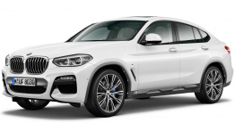 BMW X4 G02 Sports Activity Coupé with original BMW Wheels