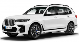 BMW X7 G07 Sports Utility Vehicle with original BMW Wheels