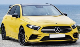 Mercedes A Class W177 A35 AMG Hatchback with original Mercedes Wheels