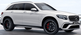 Mercedes GLC Class V253 GLC63 & GLC63S LWB AMG Off-Roader with original Mercedes Wheels