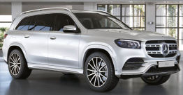 Mercedes GLS Class X167 SUV with original Mercedes Wheels