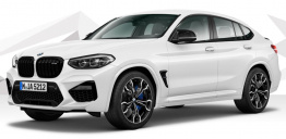 BMW X4M F98 Sports Activity Coupé with original BMW Wheels