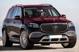 Mercedes GLS Class X167 Maybach SUV with original Mercedes Wheels