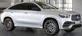 Mercedes GLE Class C167 SUV with original Mercedes Wheels