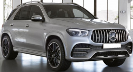 Mercedes GLE Class V167 GLE53 AMG SUV with original Mercedes Wheels