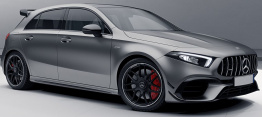 Mercedes A Class W177 A45 AMG Hatchback with original Mercedes Wheels