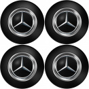 Genuine AMG Centre Cap Set Large Black