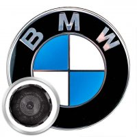Genuine BMW Centre Caps Chrome Edge 68mm for 5x120 wheels