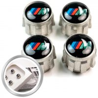 Genuine BMW M Valve Dust Cap Set