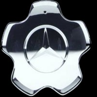 Genuine Mercedes Chrome B Class Caps