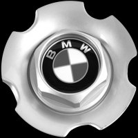 Genuine BMW 75 centre caps