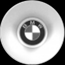 Genuine BMW 77 & 76 centre caps