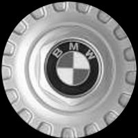 Genuine BMW 8 & 9 centre caps