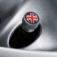 Genuine MINI Union Jack Valve Dust Caps