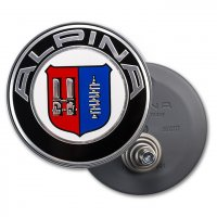Alpina Emblem for Classic C01/07/09/10/13 Centre Caps