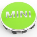 Genuine MINI Centre Cap Set Apple Green Small